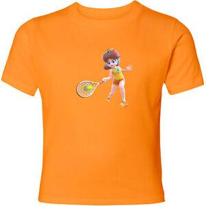 Nintendo-Mario-Princess-Daisy-Tennis-Unisex-Men-Women-Sport-Video-Game-T-Shirt