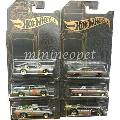 Hot Wheels Pontiac Firebird 67 Custom Satin and Chrome GHH73-999A 1//64