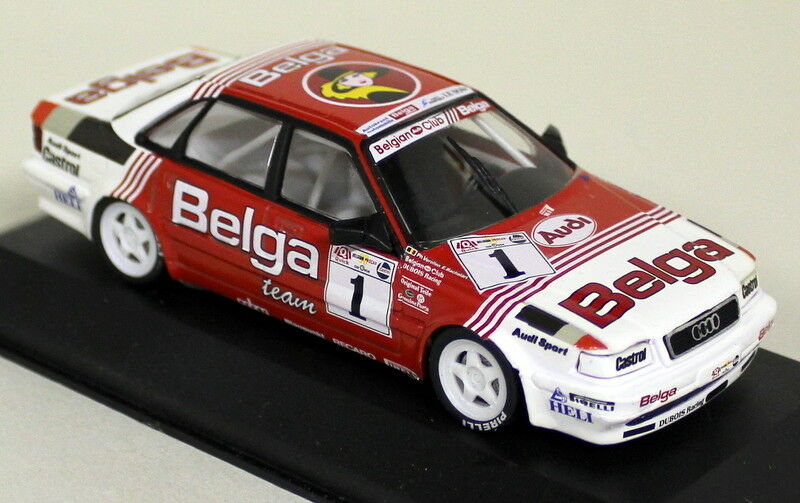 Minichamps 1 43 Scale Belga Team Audi V8 Sport Belgian Procar  Diecast Model Car