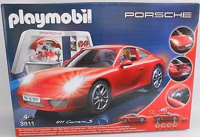 PLAYMOBIL® 3911 Porsche 911 Carrera S NEU /& OVP mit Beleuchtung