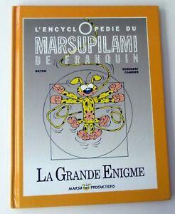 ENCYCLOPEDIE-DU-MARSUPILAMI-LA-GRANDE-ENIGME-BATEM-MARSU-EO-NOV-91-TBE