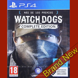 Watch-Dogs-Complete-Edition-PlayStation-4-PS4-18-Totalmente-Nuevo-Y-Sellado