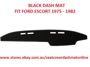 DASH MAT, DASHMAT, DASHBOARD COVER FIT FORD ESCORT 1975 - 1982, BLACK