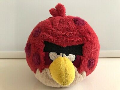 Angry Birds Plush Terence Red Bird Stuffed Animal Toy 5 Big Brother Ebay