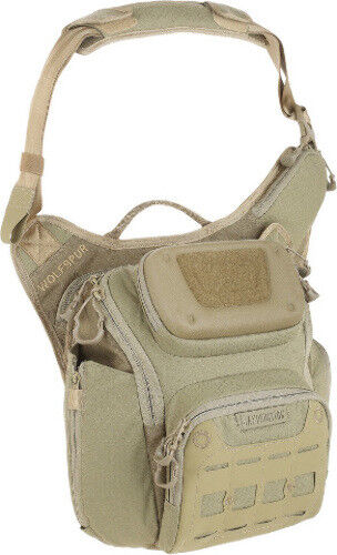 New Maxpedition MXWLFTAN WOLFSPUR Crossbody Bag Tan