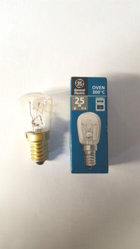25w 41-ge-04 ZANUSSI FORNO LAMPADINA 300c e14 G /& e