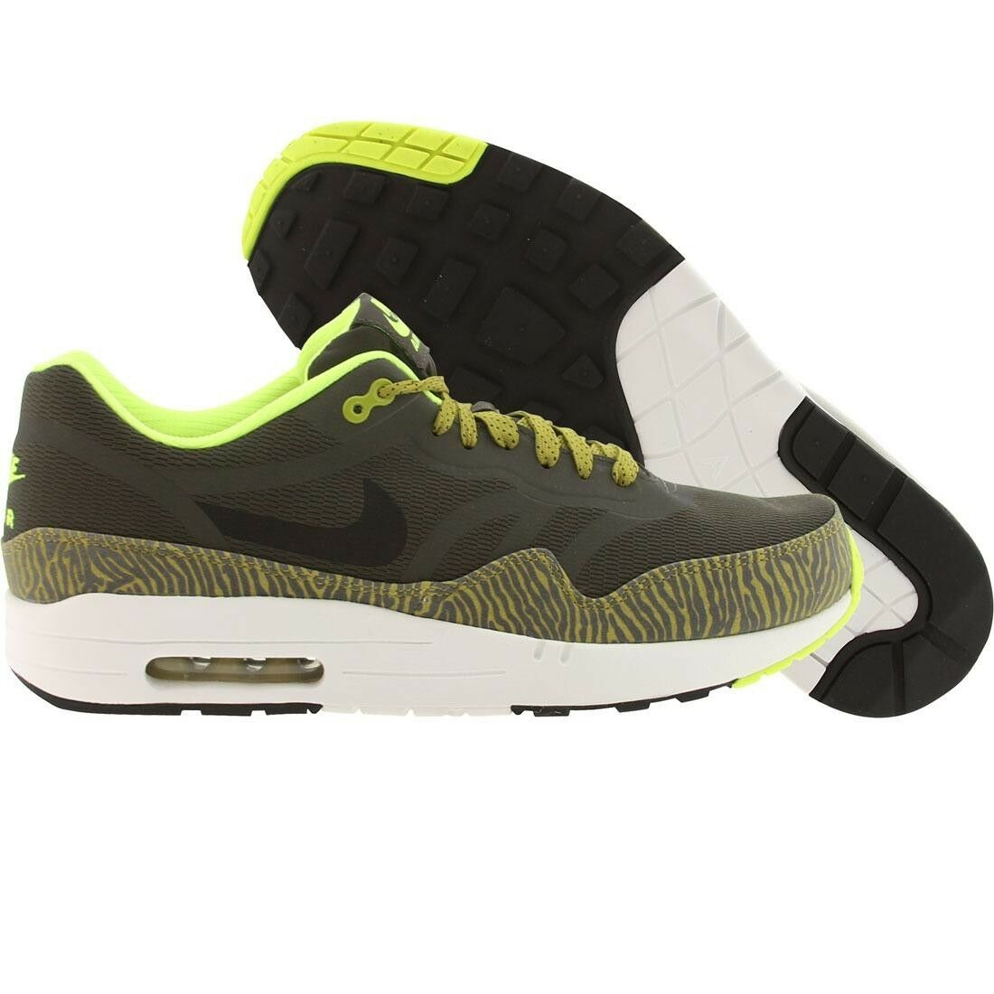 Special limited time 599514-007 Nike Men Air Max 1 Premium Tape (nwsprnt / black / prcht gld / smmt w