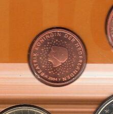 Pays Bas - 2004 - 1 Centime D'euro FDC Scéllée provenant coffret BU 50 000 ex