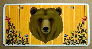 UNUSED-AUTO-PLATE-BEAR
