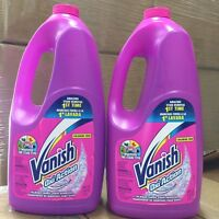 Vanish Oxi Action In Wash Fabric Stain Remover Chlorine Free, 60 Oz (pack Of 2)