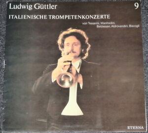 LUDWIG-GUTTLER-it-Trompetenkonzerte-LP-Schallplatte-Sammlerstueck-selten