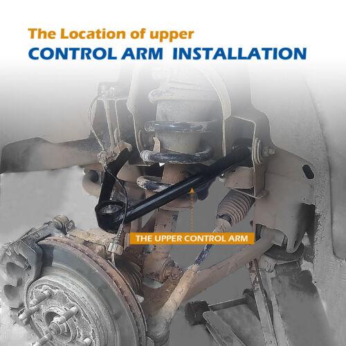 "Front Upper Control Arm Suspension Kit 2-4/"" Lift Fit 2004 Nissan Titan Armada"