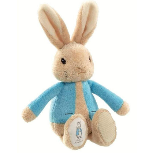 Beatrix Potter New Baby Gift PETER RABBIT /& FLOPSY BUNNY Soft Bean Rattle