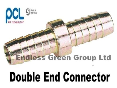 PCL DOUBLE END AIR LINE HOSE CONNECTOR  fits 5/16 diameter airhose     805