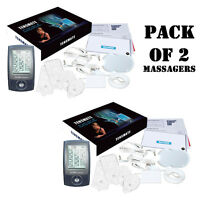 Pack Of (2) Tensmate 12 Mode Muscles Massager For Pain Relief & Fda Approved on sale
