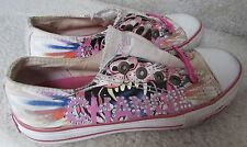 Ed Hardy Little Kid/Big Kid Yes Can Obama Fashion Slip On Sneakers Size 2