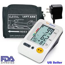 High Blood Pressure Monitor,Upper Arm BP Cuff,Automatic Machine,Power Adapter