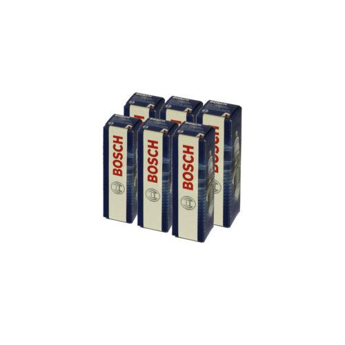6x Bosch Bougie d/'allumage zuendkerze Double Platinum Set//0 242 230 500//6-Cylindre