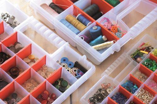 Sortimentskasten Organizer Sortierkasten Schraubenbox  Kleinteilebox NorT Serie