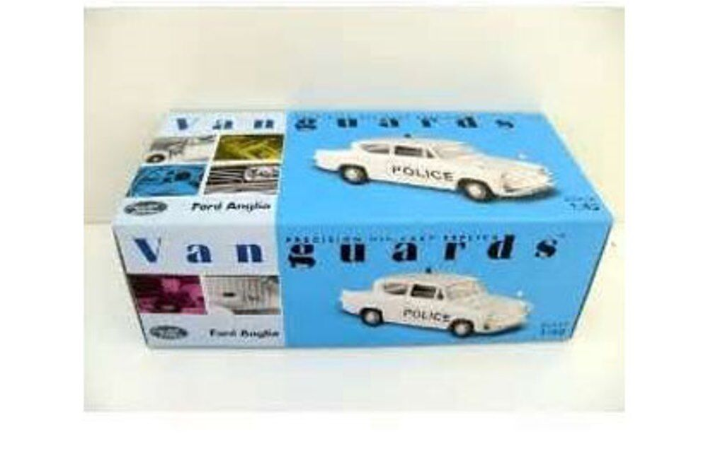 LLEDO VANGUARDS VA00120 FORD ANGLIA die cast car LIVERPOOL AND BOOTLE POLICE