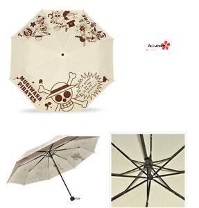 Merchandising & Fanartikel One Piece Anime Manga Taschenschirm Regenschirm Schirm R.98cm Neu