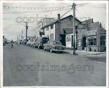 1952 Street Scene Red Lake 1950s Ontario Canada Press Photo