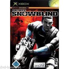 X-BOX * PROJECT: SNOWBLIND * NEU & OVP * Online Live * Shooter *