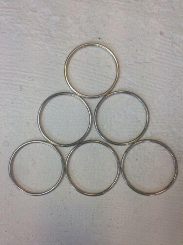 en acier inoxydable O Ring 65 mm 304 soudés par Sangle 4 mm Artisanat... Intérieur hamac