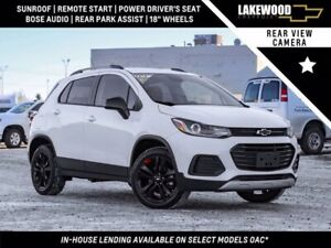 2018 Chevrolet Trax LT Redline True North AWD