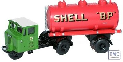 76mh012 Oxford Diecast Shell-mex & Bp Mech Horse Tank Trailer Oo Scale
