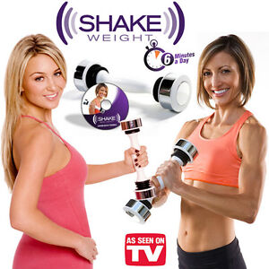 new shake weight dumbbell fitness gym workout for women