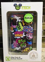 Disney Park Sketch Art Mickey Motorola Atrix 4g Android Smartphone Clip Case