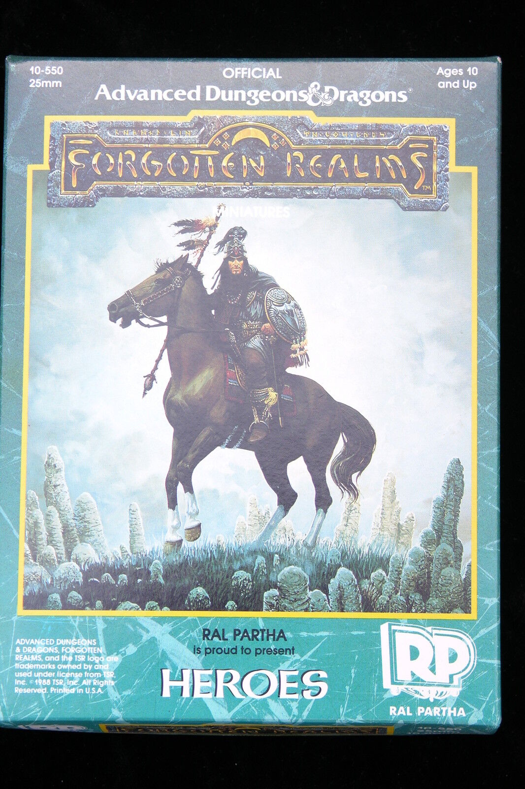 RAL PARTHA AD&D FORGOTTEN REALMS, HEROES BOXED BOXED BOXED 725775