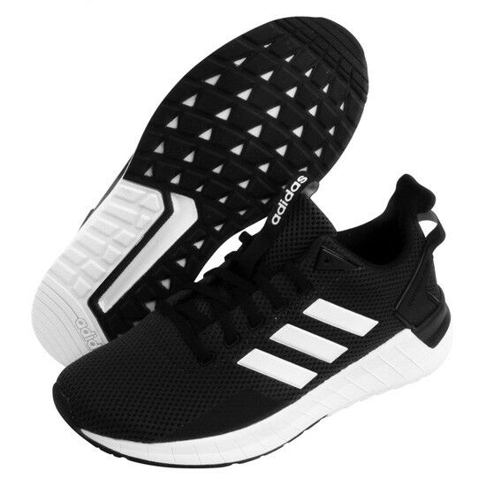 Adidas Questar Ride Men's Running scarpe nero Sport Fitness Gym Walking DB1346