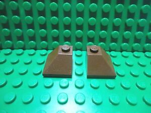 Lego 4 Red 2x2 double convex slope castle
