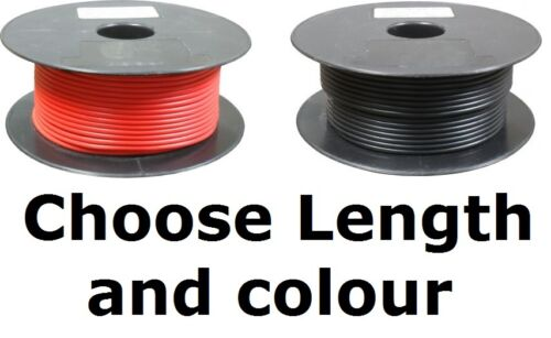 Choose Length 41 Single Core Cable 70 Amp Rating 10mm² Car Wire Alternator