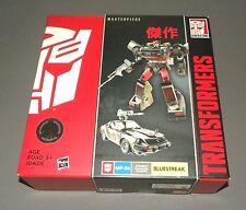 Transformers Masterpiece Bluestreak MP-06 Autobot Commando Figure Sports Car