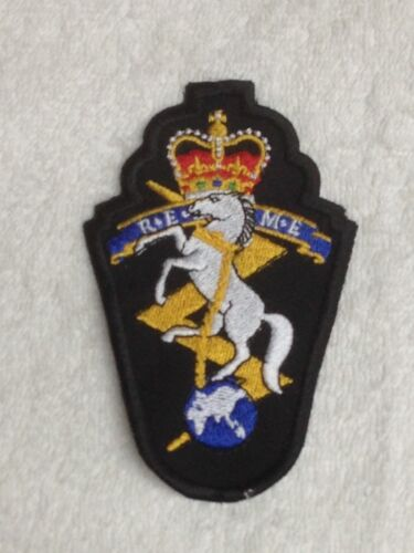 Embroidered Patches Badges Sew On Breast Biker Patch REME