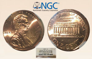 2005-1C-Lincoln-NGC-MS66RD-Error-5-Off-Ctr-Rare-Date-RicksCafeAmerican-com