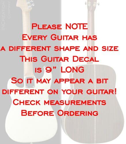 Angels And Airwaves Guitar Vinyl Stickers Rock Band AVA Vinyl Decals Bass Guitar