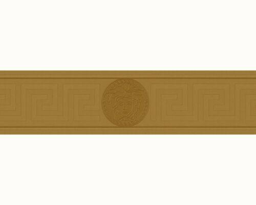 34,77€//1qm Tapeten Borte Versace Home Griechisch Medusa gold Metallic 93522-2