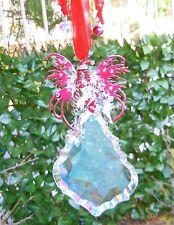 Kirks Folly Candy Cane Fairy Crystal Ornament Large Christmas