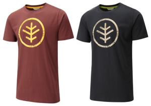 Wychwood Icon Emblem T-Shirt Black or Brick Red