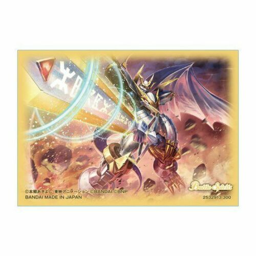 PB-07 Japan NEW Bandai Battle Spirits Official Collaboration Sleeve Digimon