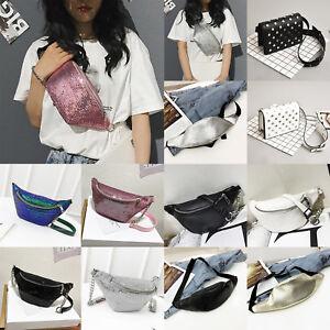 Women Fashion Waist Bag Fanny Pack Phone Key Cards Belt Clutch Purse ... 2fcbad8424