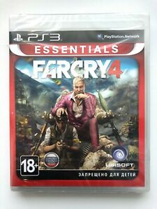 Far Cry 4 PS3 Sony PlayStation 3 russe Cover Brand New Factory Sealed