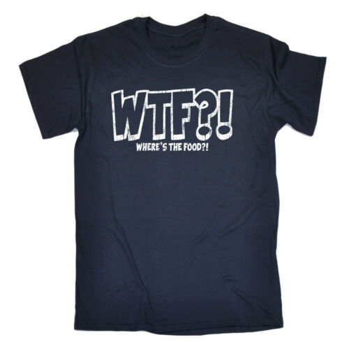 Wtf Wheres The Food T-SHIRT Chef Kitchen Cook Humor Fashion Gift birthday funny