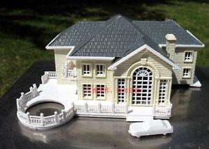 Image Is Loading 3D Plastic House Construction Kit European Villa Model