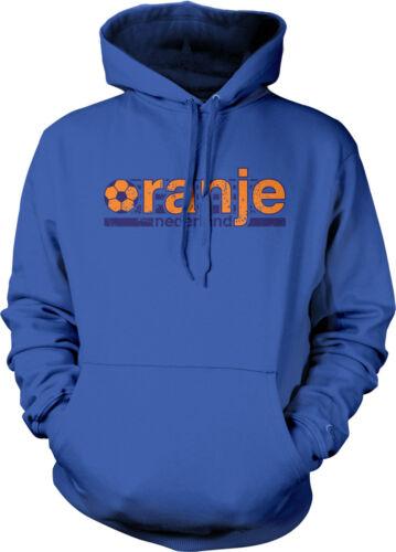 Soccer Ball Oranje Netherlands Holland Nederlands Football Pride Hoodie Pullover