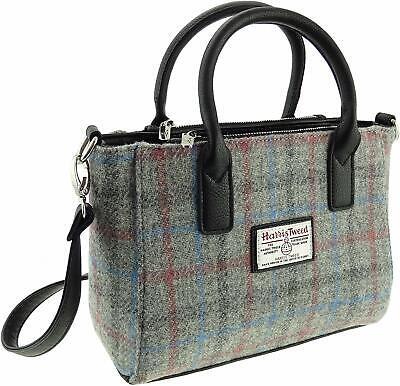 Ladies Authentic Harris Tweed Small Tote Bag Brora LB1228 COL51